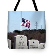 Dallas Fort Worth Memorial Cemetery Tote Bag