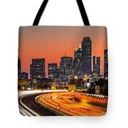 Dallas Sunrise Tote Bag