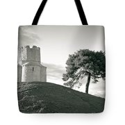 Dalmatian Stone Church On The Hill Tote Bag by Brch Photography