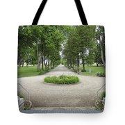 Daly Mansion Entrance - Montana Tote Bag