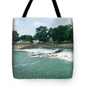 Dam At Batesville Arkansas Tote Bag by Douglas Barnett