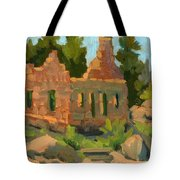 Dam Watcher's Old Home Tote Bag