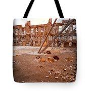 Damaged Building Tote Bag