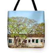 Damaged Colonial Buildings Tote Bag by Jess Kraft
