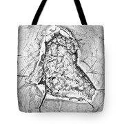 Damaged Metal Tote Bag