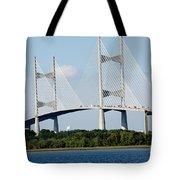 Dames Point Bridge Jacksonville Florida Tote Bag