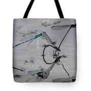 Damselfly Circus Tote Bag