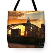 Dan C Beard Bridge 9917 Tote Bag