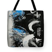 Dance Along The Light Of Day Tote Bag