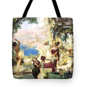 Dance Amongst The Daggers Tote Bag