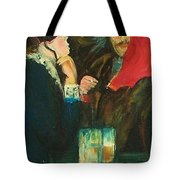 Dance At Bougival Close Up Tote Bag