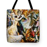 Dance Ball Of Cats  Tote Bag by Leonid Afremov