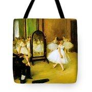 Dance Class 2 Tote Bag
