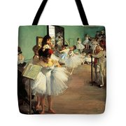 Dance Examination Tote Bag by Edgar Degas