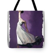 Dance For Him Tote Bag