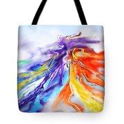Dance Of Colors Tote Bag