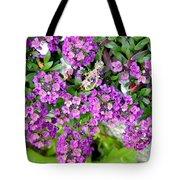 Dance Of Flowers Tote Bag