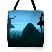 Dance Of The Sea Tote Bag by Joyce Dickens
