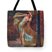 Dance Of The Veils Tote Bag by Gaston Bussiere