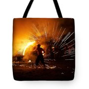 Dance On Fire Tote Bag