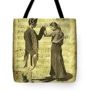 Dance The Minuet With Me Tote Bag