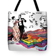 Dance Till The End Of Time Tote Bag