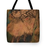 Dancer In The Wing Tote Bag by Edgar Degas
