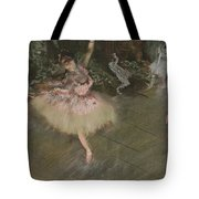 Dancer Taking A Bow  Tote Bag