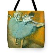Dancers At The Barre Tote Bag