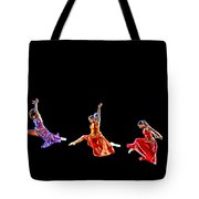 Dancers In Flight Tote Bag