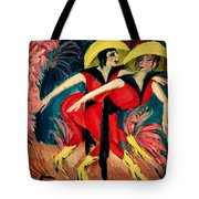 Dancers In Red Tote Bag