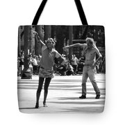 Dancers In Sao Paulo Tote Bag