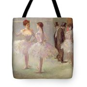 Dancers In The Wings At The Opera Tote Bag by Jean Louis Forain