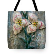 Dances With Flowers Tote Bag
