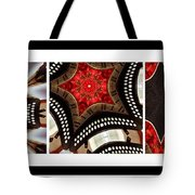 Dancing A Jig - Accordion - Pentaptych Tote Bag