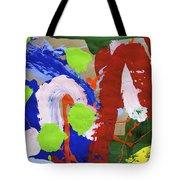 Dancing Clown Tote Bag