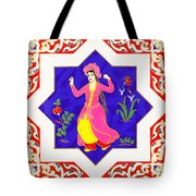 Dancing Dancer Pastel Tote Bag