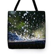 Dancing Droplets Tote Bag