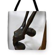 Dancing Female Figure Tote Bag