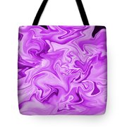 Dancing Flames-purple Tote Bag