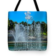 Dancing Fountain Tote Bag