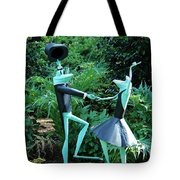 Dancing Frogs Tote Bag