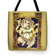 Dancing Ganesh Tote Bag