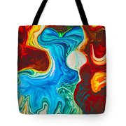 Dancing Girls Tote Bag