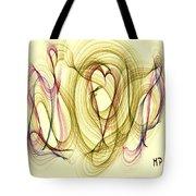 Dancing Heart Tote Bag