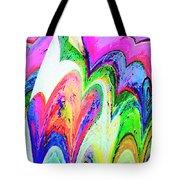 Dancing Hearts  Tote Bag by Annie Zeno
