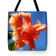 Dancing Hibiscus Tote Bag
