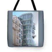 Dancing House Tote Bag