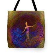Dancing In The Dark Tote Bag