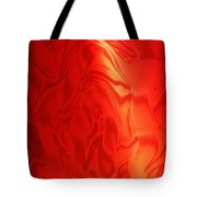 Dancing In The Fire Abstract Tote Bag